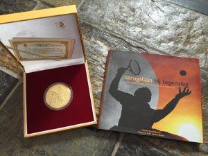 Sharon Walraven Gouden Medaille Terugslaan bij Tegenslag
